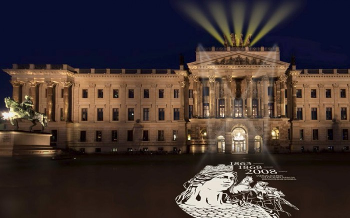 Der Löwe Heimat & Identität - die Quadriga