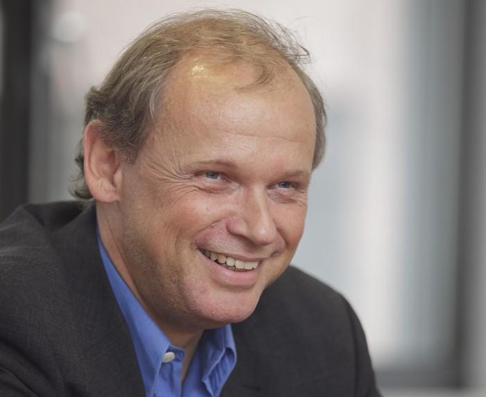 Eintracht-Präsident Sebastian Ebel