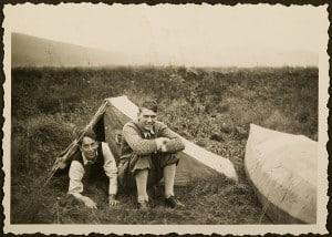 Herbert Meyersfeld und Richard Borek (1931). Foto: Meyersfeld