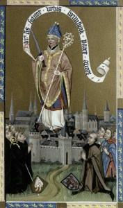 Der heilige Auctor, um 1460 (Museum August Kestner Hannover)