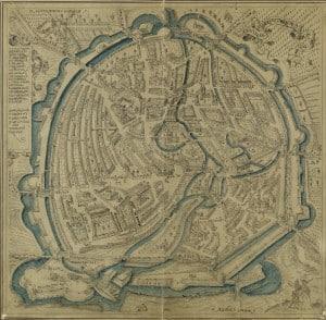 Vogelschauplan, 1606 (Stadtarchiv Braunschweig)