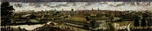 Ansicht von Osten, 1723 (Städtisches Museum Braunschweig)