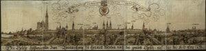 Ansicht von Westen, 1547 (Herzog August Bibliothek Wolfenbüttel)