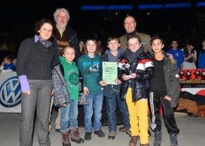Sieger bei der männlichen Jugend U10 wurde die Grundschule Rühen. Foto: STIFTUNG NORD/LB • ÖFFENTLICHE