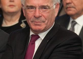 Landesbischof Prof. Dr. Friedrich Weber erhält viel Anerkennung. Foto: Peter Sierigk