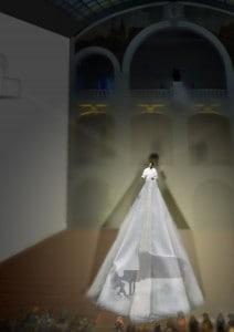Liquid Soul - Eine musikalische Collage um die mystische Liebesgeschichte der Undine (im aktuellen Programm, Städt. Museum Braunschweig, 22.03., 19 Uhr). Animation: Sören Berg