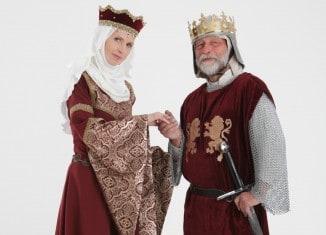 Heinrich und Mathilde, dargestellt von Silke Graf und Thomas Ostwald. Foto: Heinrich-Festspiele