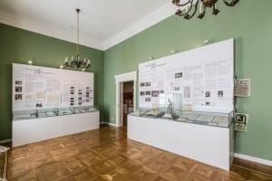 Wandzeitung über die Fürstentaufe. Foto: Schlossmuseum/Marek Kruszewski