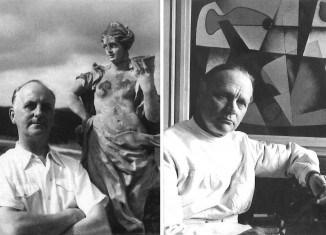Rudolf Jahns (1959) und Ernst Sander (1958). Foto: Ankündigungsflyer
