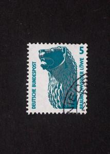 Braunschweiger Löwe, 1990, 5 Pfennig, Repro: Peter Sierigk