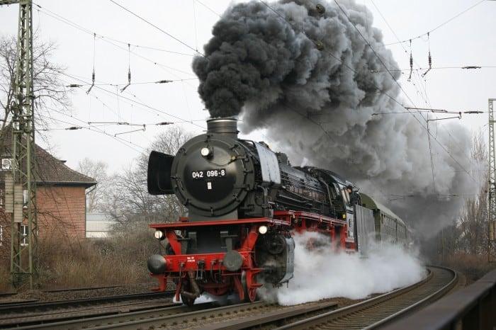 Unter Dampf: Lok 41 096. Foto: Wilfried Hanelt