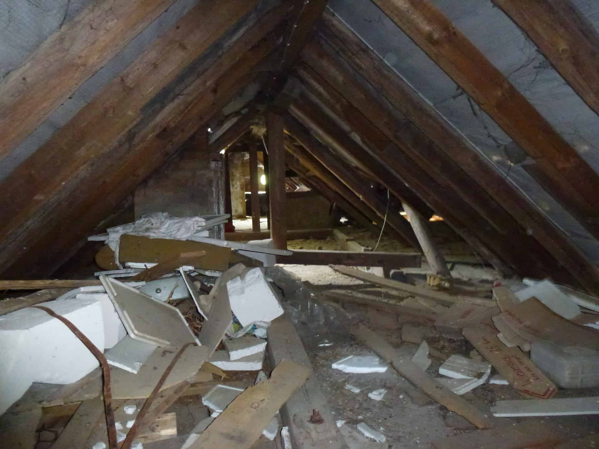Anspruchsvoll Dachboden Das Beste Von Der Vor Der Sanierung. Foto: Bürgerschaft En
