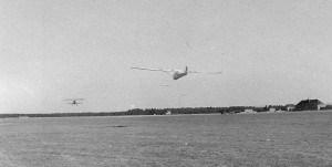 Segelflug in Braunschweig-Waggum, Flugzeugschlepp (25.08.1940)