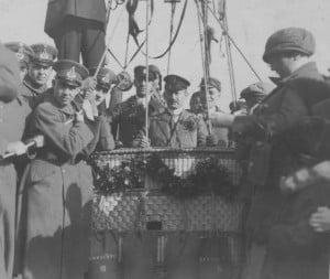 Taufe des Ballons Braunschweig III (22.03.1925)