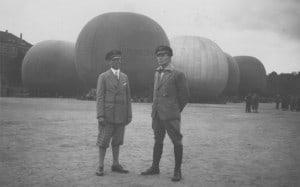 Piloten Markmann und Rustenbach (Helmstedt) (29.08.1931)