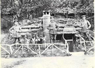 Villa lustige Brüder nannten diese Soldaten ihre Unterkunft. Foto: Archiv Ernst-Johann Zauner