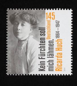 Ricarda Huch, 150. Geburtstag 2014, 145 Cent. Foto: Peter Sierigk