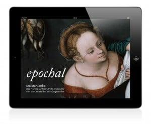 Die Startseite der App auf dem iPad. Foto: Herzog Anton Ulrich Museum