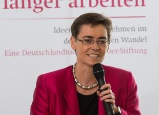 Die Journalistin Margaret Heckel referierte über die positiven Aspekte des Altwerdens. Foto: Haus der Braunschweigischen Stiftungen