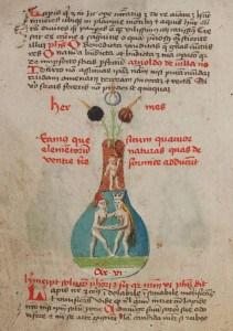 Donum Dei, Pergamenthandschrift, 15. Jh. Foto: HAB