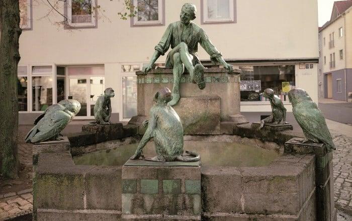 Der Eulenspiegelbrunnen heute. Foto: Stadtarchiv