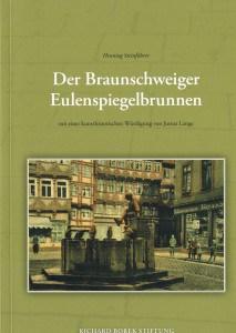 """Die Titelseite des Buches """"Der Braunschweiger Eulenspielbrunnen""""."""