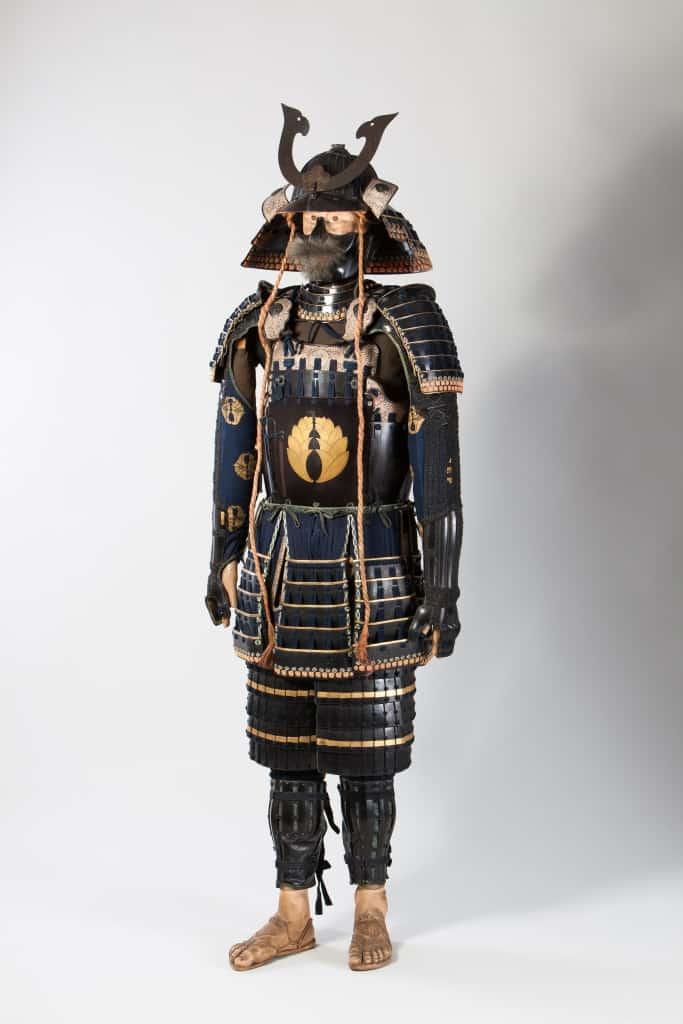 Die Rüstung eines Samurai. Foto: Städtisches Museum