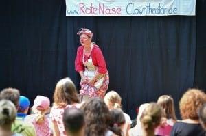 """Das """"RoteNase Clowntheater"""" trat mehrfach auf und begeisterte. Foto: Andreas Greiner-Napp"""