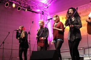 Be Jane auf der Singer- and-Songwriter-Bühne. Foto: Veranstalter undercover