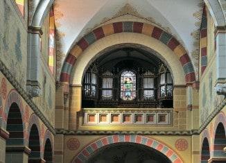 Die Orgel im Kaiserdom zu Königslutter. Foto: Stiftung Braunschweigischer Kulturbesitz