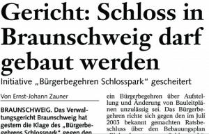 Bericht zum Gerichtsentscheid über ein Bürgerbegehren. Screenshot: meyermedia