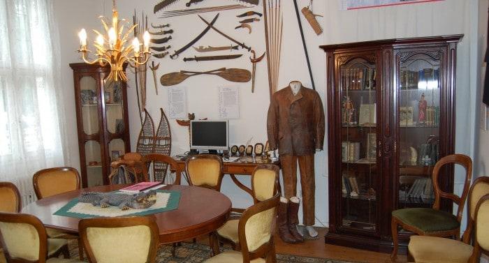 Blick in das Arbeitszimmer von Friedrich Gerstäcker. Foto: Museum