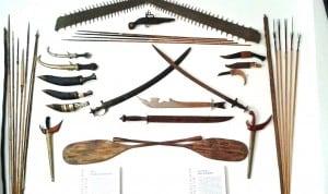 Utensilien aus Gerstäckers Nachlass. Foto: Museum