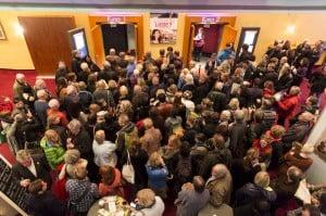 Großer Andrang beim Filmfest im C1. Foto: Filmfest/Marek Kruszewski