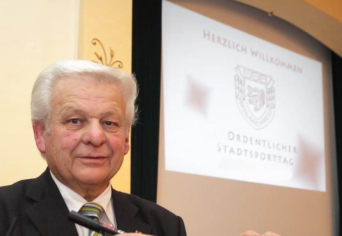 Franz Matthies, Präsident des Stadtsportbundes Braunschweig. Foto: Peter Sierigk