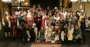 Das Ensemble der Heinrich-Festspiele 2014. Foto: Heinrich-Festspiele