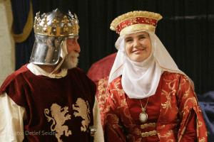 Mathilde und Heinrich. Foto: Heinrich-Festspiele