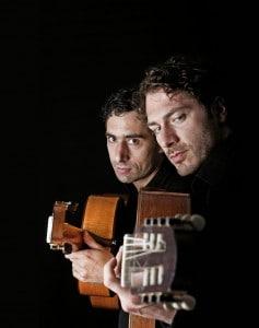 Reentko Dirks und Daniel Wirtz verbinden ihre konzertante Musik mit den unterschiedlichen Stilen wie Tango Nuevo, Jazz, Flamenco und Worldmusic. Foto: Veranstalter