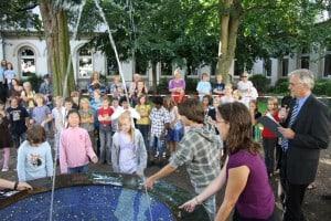 Traditionelle MK-Taufe der neuen Jahrgänge. Foto MK