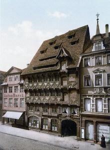 Das Huneborstelsche Haus an seinem Originalstandort Sack. Archiv: Thomas Ostwald
