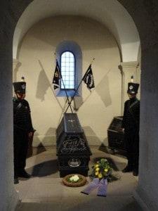 Das Herzoglich Braunschweigische Feldcorps hielt die Ehrenwache. Foto: Richard Borek Stiftung