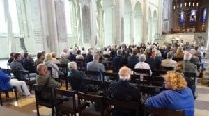 Der Dom war gut besucht. Foto: Richard Borek Stiftung