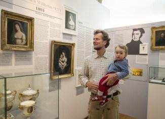 Die Ausstellung zeichnet auf übersichtlichen Schautafeln ein spannendes Leben nach. Foto: Peter Sierigk