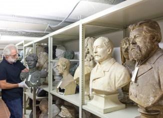 Blick in das Depot des Braunschweigischen Landesmuseums. Foto: Braunschweigisches Landesmuseum