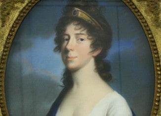 Friederike Luise Wilhelmine von Johann Heinrich Schröder um 1800 porträtiert. Foto: Schlossmuseum Braunschweig