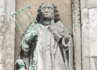 St. Laurentius fand am 6. August 258 einen grausamen Tod. Foto: Peter Sierigk