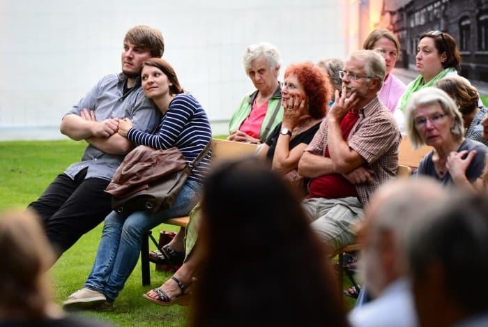 Die untere Bühne des Gartens war wegen des sehr guten Musikprogramms stets gut gefüllt. Foto: Andreas Greiner-Napp