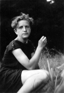 Franziska Stellmacher, Bennemanns spätere Frau, 1931 in Hann.-Münden. Foto: Stadtarchiv: G IX 76_724_0001