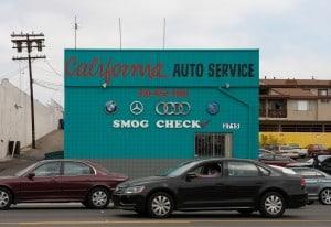Der California Auto Service bietet Reparaturen und Smog Check vorwiegend für deutsche Marken an. Foto Birte Hennigs