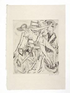 Beckmann, Kreuzabnahme (1918), © VG Bild-Kunst, Bonn 2015